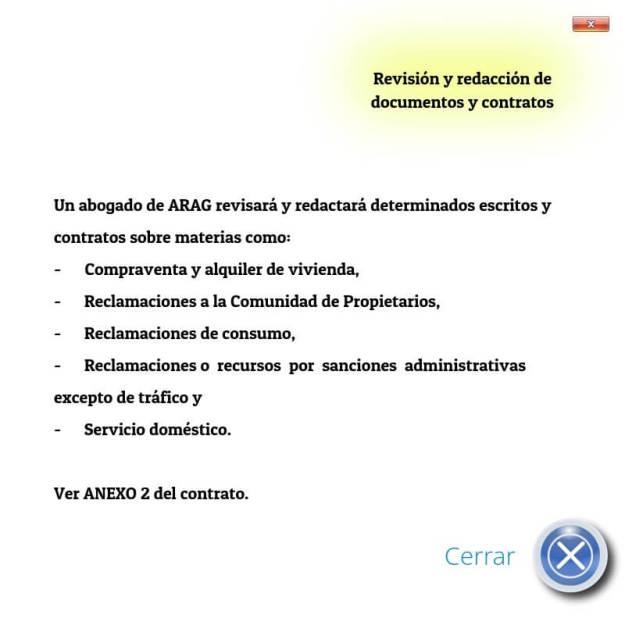 Revisión y redacción de documentos y contratos