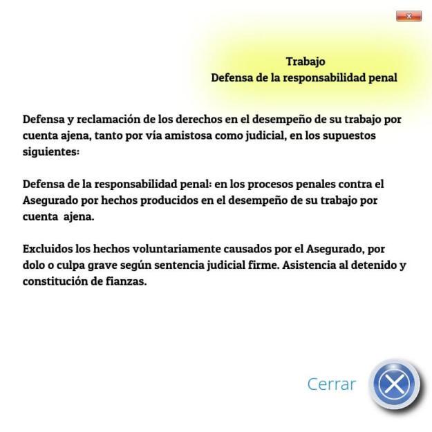 Trabajo: Defensa Responsabilidad Penal