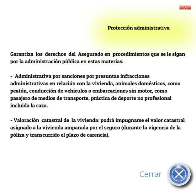 Protección administrativa